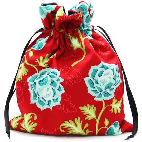 Capturing Couture Azalea Protective Tote Bag for DSLR Camera Body (Red)