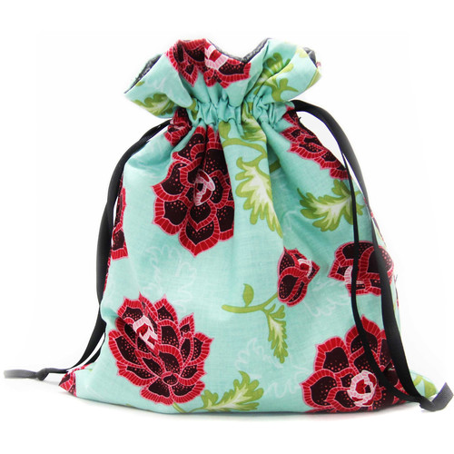 Capturing Couture Azalea Protective Tote Bag for DSLR Camera Body (Teal)