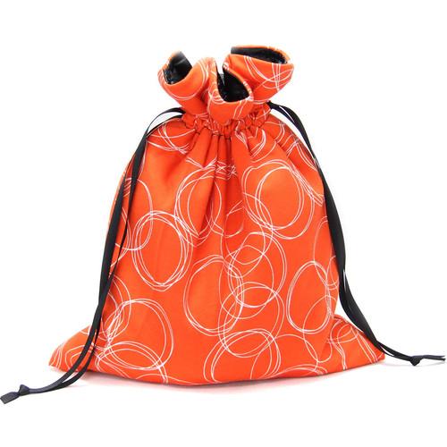 Capturing Couture Olivia Protective Tote Bag for DSLR Camera Body (Orange)