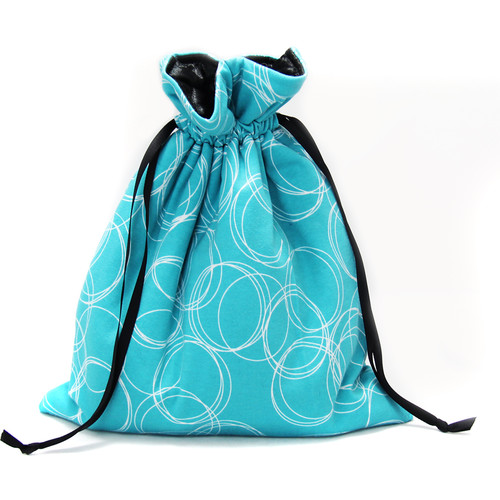 Capturing Couture Olivia Protective Tote Bag for DSLR Camera Body (Turquoise)