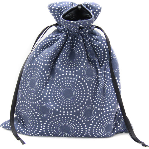 Capturing Couture Zoe Protective Tote Bag for DSLR Camera Body (Blue)