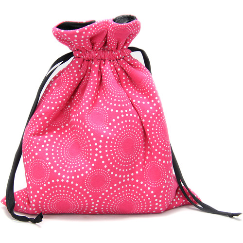Capturing Couture Zoe Protective Tote Bag for DSLR Camera Body (Pink)
