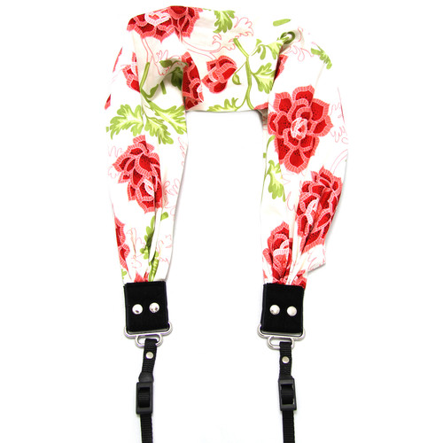 Capturing Couture Azalea Scarf Camera Strap (Cream)