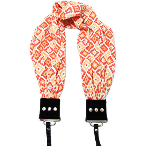 Capturing Couture Scarf Camera Strap (Giovanie Coral)