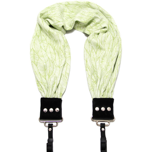Capturing Couture Heather Scarf Camera Strap (Green)