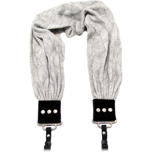 Capturing Couture Scarf Camera Strap (Heather Gray)