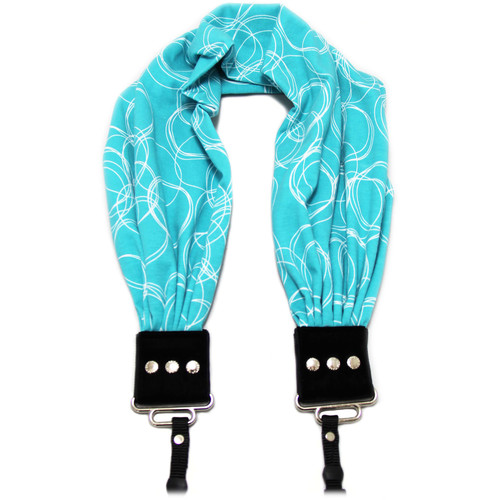 Capturing Couture Olivia Scarf Camera Strap (Turquoise)