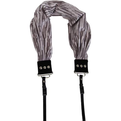 Capturing Couture Raffia Scarf Camera Strap (Gray)