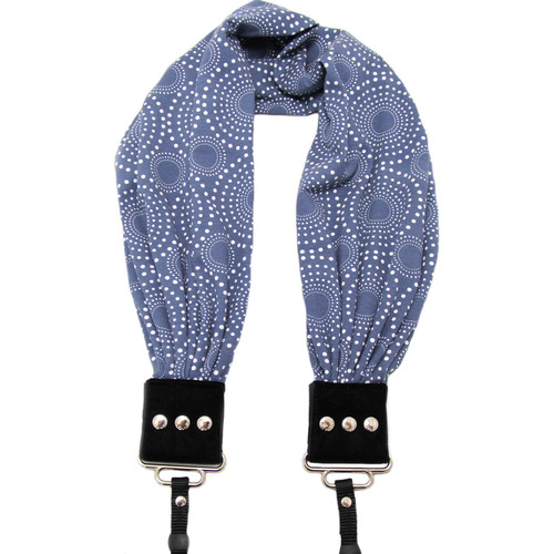 Capturing Couture Zoe Scarf Camera Strap (Blue)