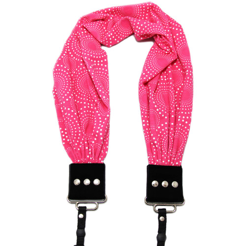 Capturing Couture Scarf Camera Strap (Zoe Pink)