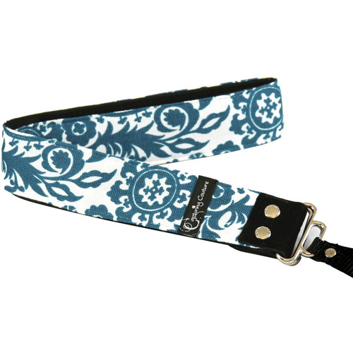 "Capturing Couture Tropical Collection Penelope 1.5"" Wide Camera Strap (Bay)"
