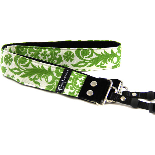 "Capturing Couture Tropical Collection Penelope 1.5"" Wide Camera Strap (Pear)"