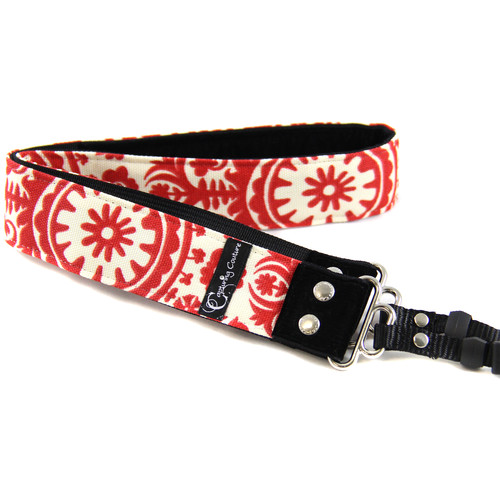 "Capturing Couture Tropical Collection Penelope 1.5"" Wide Camera Strap (Rose)"
