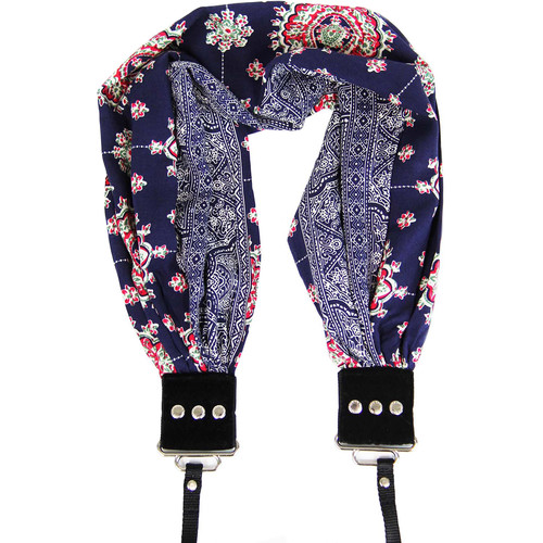 Capturing Couture Pocket Scarf Camera Strap (Bluebell)