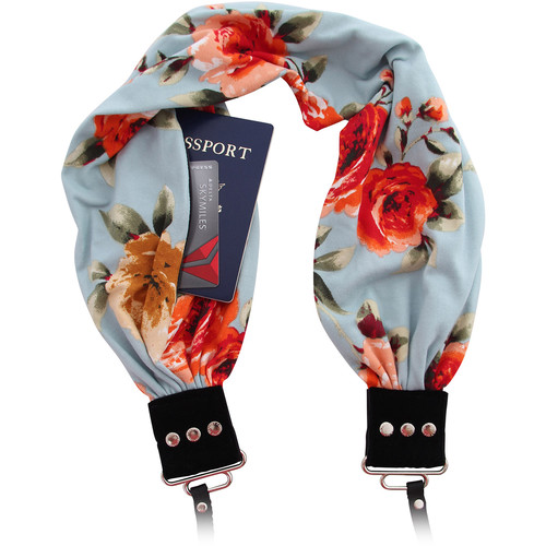 Capturing Couture Pocket Scarf Camera Strap (Monet)