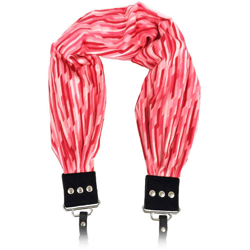 Capturing Couture Pocket Scarf Camera Strap (Raffia Red)