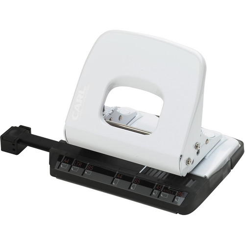 Carl ALYSIS 2-Hole, 18 Sheet Paper Punch (White)