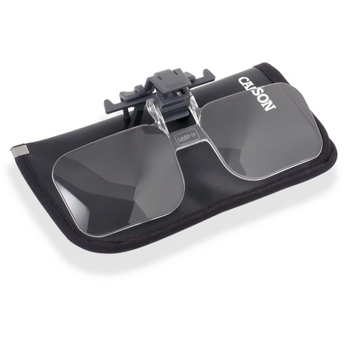 Carson CF-10 Clip and Flip Magnifying Lenses (6-Pack)