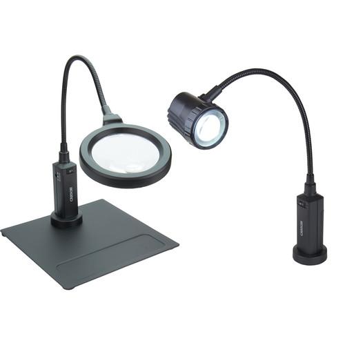 Carson CP-95 Bundle with CP-90 MagniFlex Pro 2x LED Magnifier and LF-10 LightFlex Pro LED Task Light