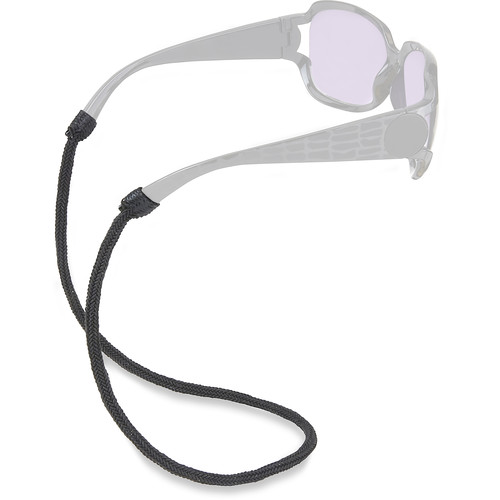 Carson ER-30 Braided Gripz Eyewear Retainer (Large, Black Ash)