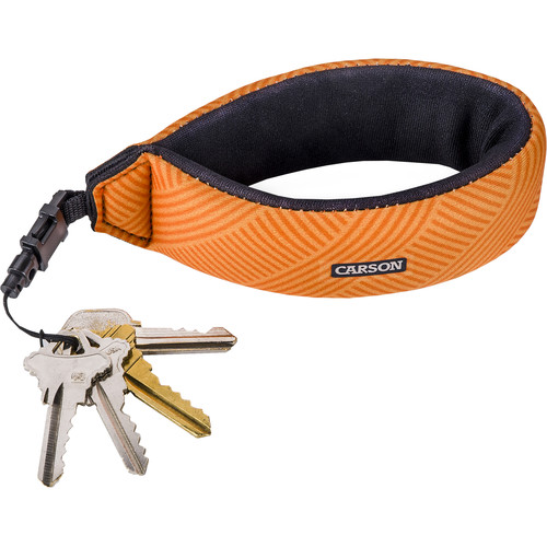 Carson Floating Wrist Strap (Coral)
