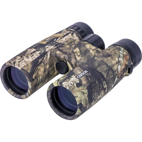 Carson 10x42 JR Close-Up Binoculars (Mossy Oak Camo)