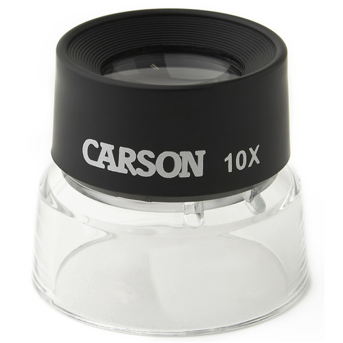 Carson LL-10 LumiLoupe 10x Magnifier (10-Pack)