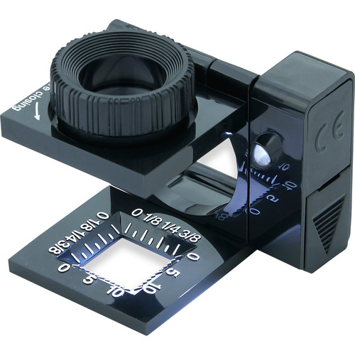 Carson LT-10 Lighted LinenTest 11.5x Magnifier (6-Pack)
