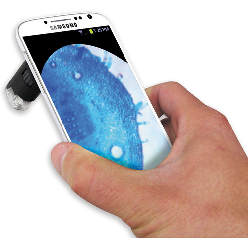 Carson MM-240 MicroMax Plus LED Microscope for Samsung Galaxy S4