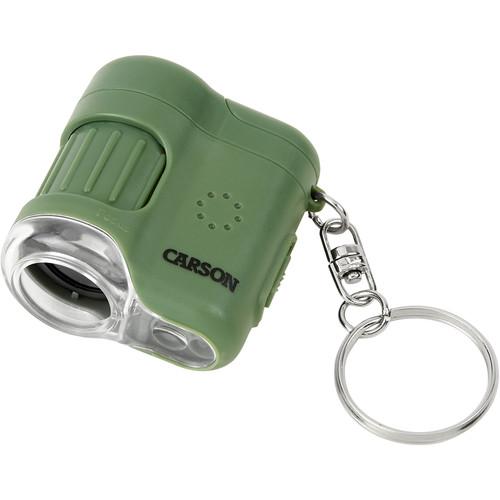 Carson MicroMini 20x Pocket Microscope (Safari Green)