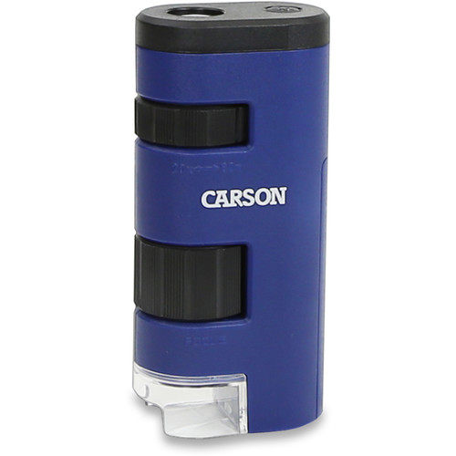 Carson MM-450 PocketMicro 20x-60x Pocket Microscope (Blue)