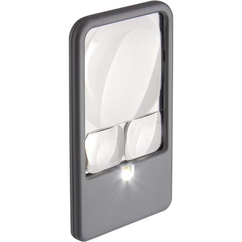 Carson PM-33 LED Pocket Magnifier (6-Pack)