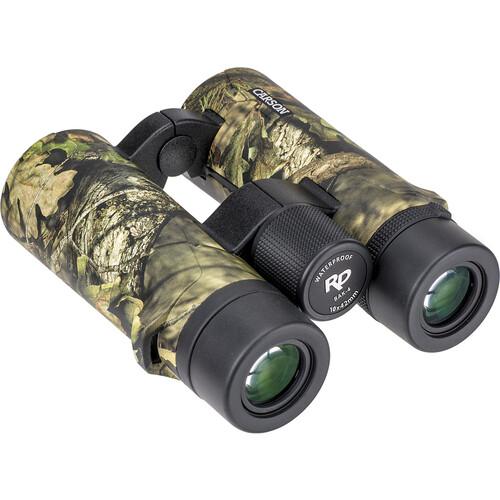 Carson 10x42 RD Binoculars (Mossy Oak Camo)