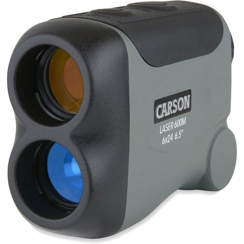 Carson 6x24 LiteWave 650-Yard Laser Rangefinder