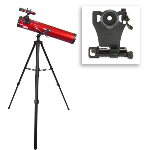 Carson RP-100SP RedPlanet 76mm f/9 Reflector AZ Telescope