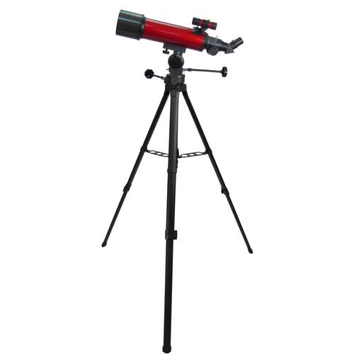 Carson RP-200SP RedPlanet 80mm f/6.25 Refractor AZ Telescope