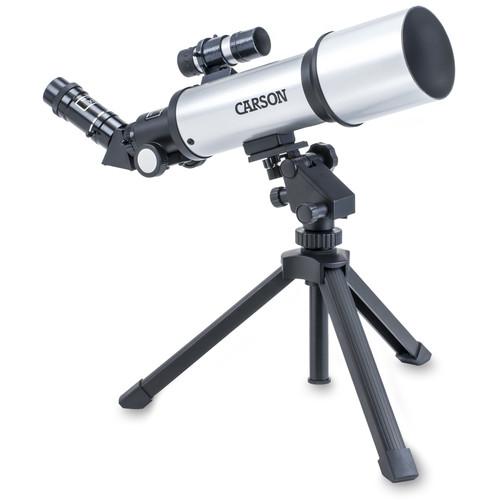 Carson SkyChaser 70mm f/6 Refractor AZ Telescope