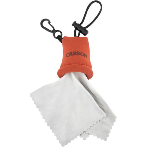 Carson Stuff-it Microfiber Cloth (Orange)