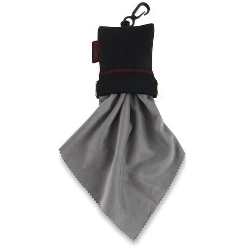 "Carson Stuff-It XL Microfiber Cloth (Gray, 8 x 8"")"