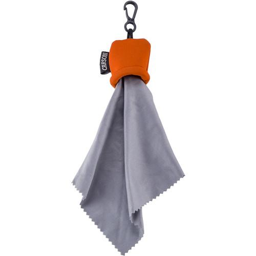 Carson Stuff-it Pro Microfiber Cloth (Orange)