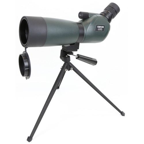 Carson Everglade 15-45x60 Spotting Scope (Angled Viewing)