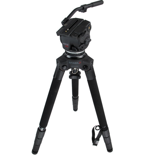 Cartoni Focus Head 125 & STABILO Tripod Legs with Bag