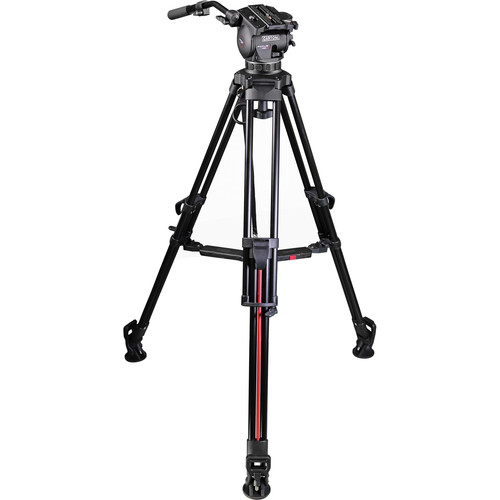 Cartoni Focus HD Smart Deployment System Tripod with Mid-Level Spreader