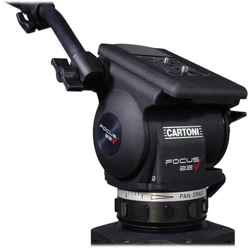 Cartoni Focus 22 Fluid Head (100mm Ball Base)