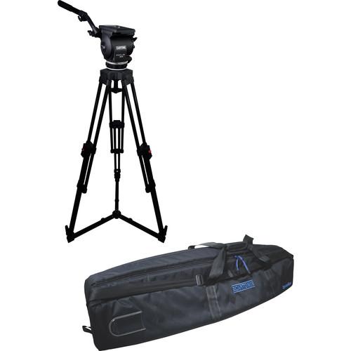 Cartoni Focus 22 Fluid Head with H601 Tripod Legs & Ground Spreader (100mm)