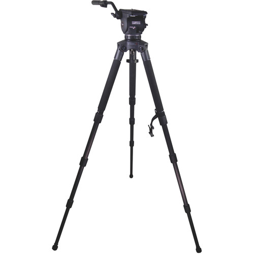 Cartoni Focus 12 Fluid Head with Stabilo Tripod Legs (100mm)