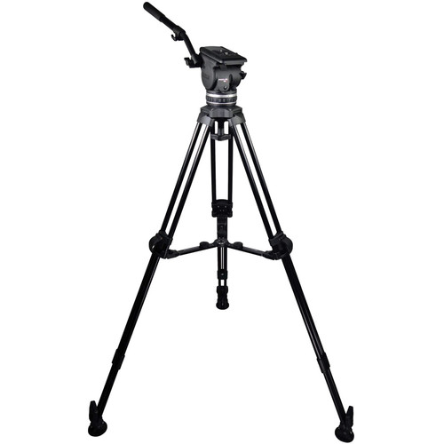 Cartoni Focus 18 Fluid Head with L507 Tripod Legs & Mid-Spreader (100mm)