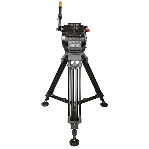 Cartoni Master 65 Head with K701 Tripod and Ground Spreader