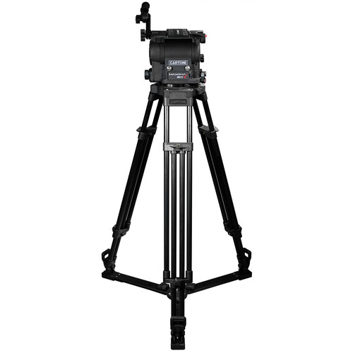 Cartoni Maxima 30 Head with K701 Tripod and Ground Spreader