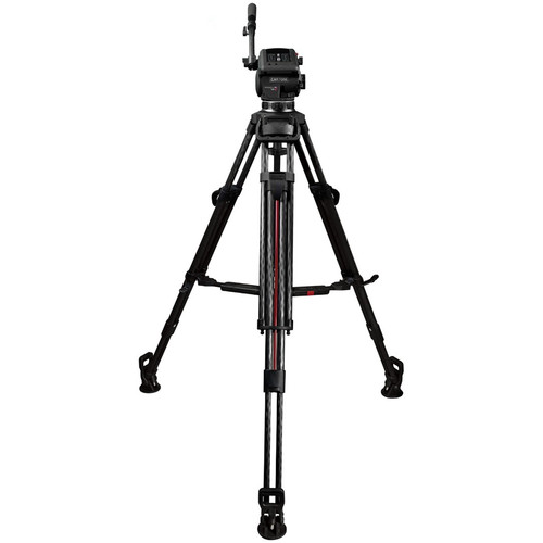 Cartoni Focus 12 Fluid Head with 2-Stage Carbon Fiber Smart-Stop SDS Tripod System